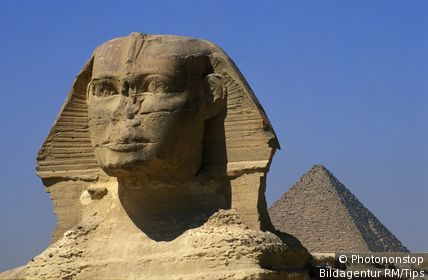 The Sphinx, Pyramids of Giza, Cairo