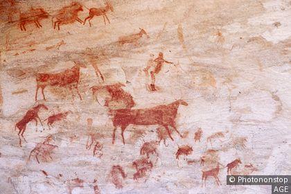 Peintures Rupestres aux environs de Clanwilliam