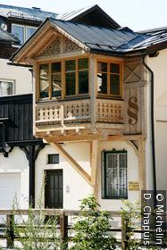 Maison au bord du Grundlseer Traun