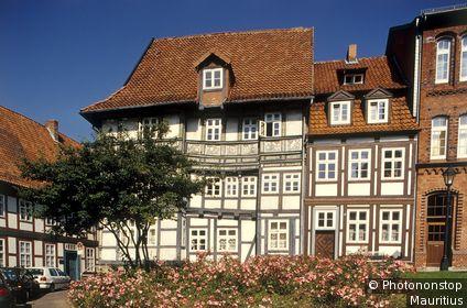 Deutschland, Niedersachsen, Hildesheim, Altstadt, Wernerhaus Europa, Norddeutschland, Fachwerkhäuser, historisch, Wernerhaus 1606, UNESCO-Weltkulturerbe, Architektur, Sehenswürdigkeit