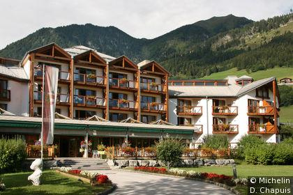 Un des nombreux hôtels