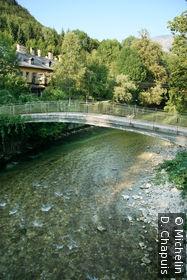 Petit pont sur l'Ischl