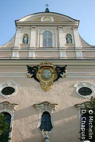 L'église sur Kaiser Franz Josef Straße