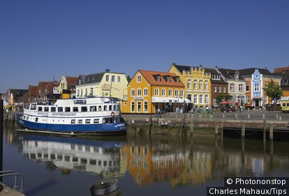 Germany, Schleswig-Holstein, Husum,harbour