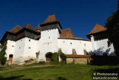 Roumanie, Transylvanie, Viscri, citadelle saxonne