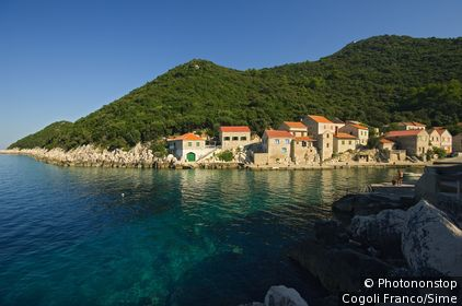 Lastovo islands, Su Mihajlo harbour.