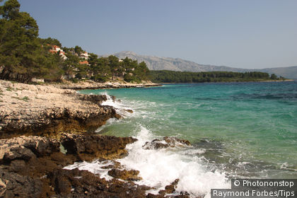 Village of Lumbarda, Korcula Island, Dalmatia, Croatia