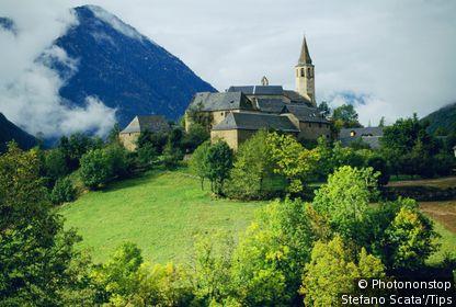 Unha. Vall d´Aran. Lleida province. Spain