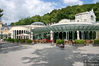 Bar dans le Kurkpark