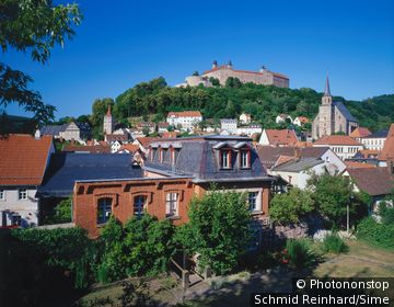 Germany / Bavaria, Bayern / Kulmbach / Historical centre and Castle of Plassenburg, Oberfranken