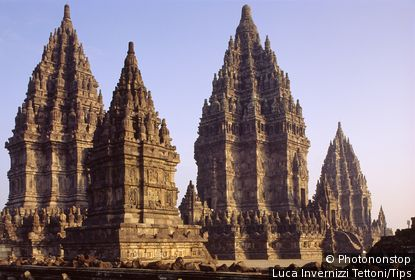 The Prambanan temple. Java, Indonesia
