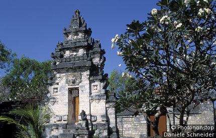 Indonésie, Bali, temple à Sanur