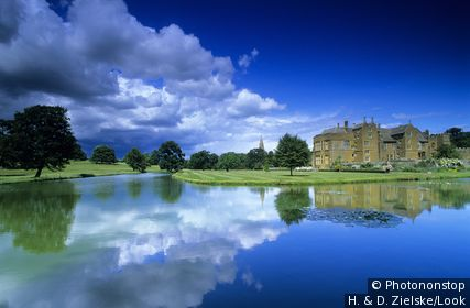 Europe, England, Oxfordshire, Banbury, Broughton Castle