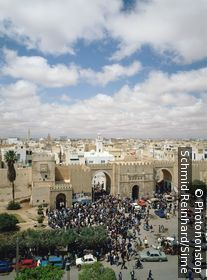 Tunisia / Safaqis / Sfax / View of Bab Diwan main gate of the Medina