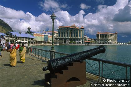 Mauritius, Mauritius island, West coast, Le Caudan Waterfront in Port Louis