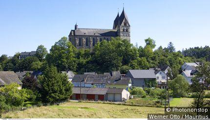 Deutschland, Rheinland-Pfalz, Hunsrück, Ravengiersburg, Kloster Ravengiersburg,