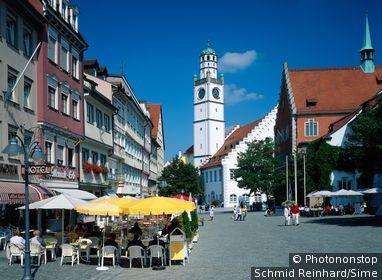 Germany / Baden-Württemberg / Black Forest / Marienplatz in Ravensburg