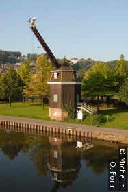 Vue de Wilhem Heinrich Brücke.