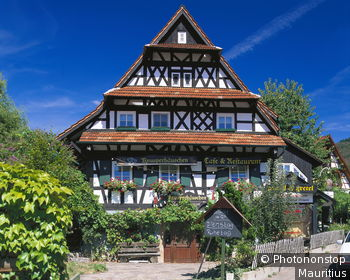Deutschland, Baden-Württemberg, Sasbachwalden, Cafe, Restaurant,