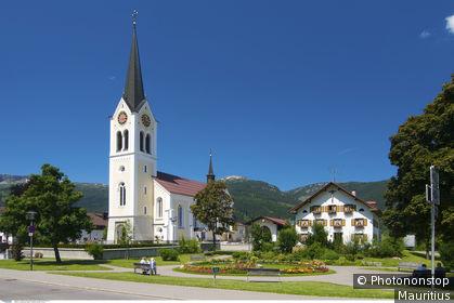 Riezlern im Kleinwalsertal, Allgäu, Vorarlberg, Ãésterreich, Europa