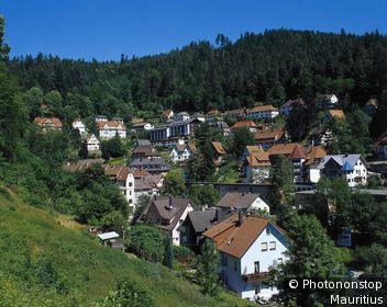 Deutschland, Schwarzwald, Triberg, Stadtansicht Baden-Württemberg, Schwarzwald-Baar-Kreis, Kurort, Stadt