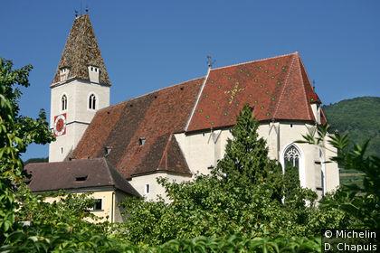 L'église dediée à saint Maurice