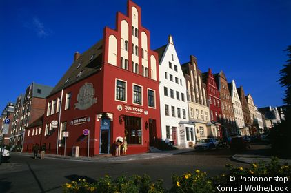 Wokrenter Street, Rostock, Mecklenburg-Western Pomerania, Germany, Europe