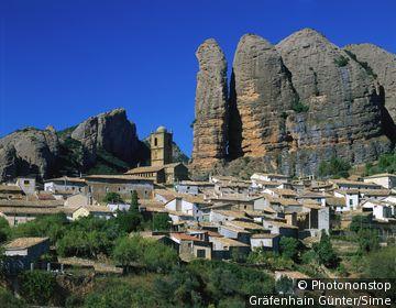 Spain, España, Aragón, Sierra de Loarre, Aguero