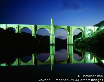 Espagne, Estrémadure, Alcantara, pont romain sur le Tage