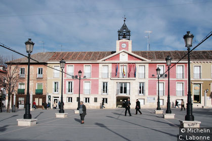 La plaza Mayor de Aranjuez