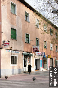 Une façade d'Aranjuez