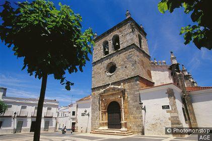 Espagne, Estrémadure, Badajoz, Olivenza, Plaza de la Magdalena