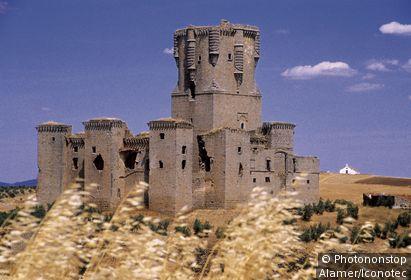 Espagne, Andalousie, province de Cordoue, Belalcázar, château
