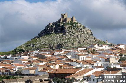 Espagne, Andalousie, province de Cordoue, château de Bélmez