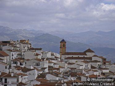 View at Benadalid, Costa del Sol, Andalucia, Spain