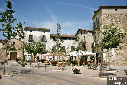 Place de l'église Sant Pere