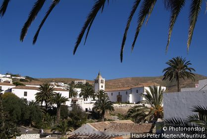 Spain, Canaries, island Fuerteventura, Betancuria, place-opinion