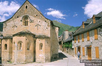 Espagne, Catalogne, province de Lerida, Betren, église Sant Esteve