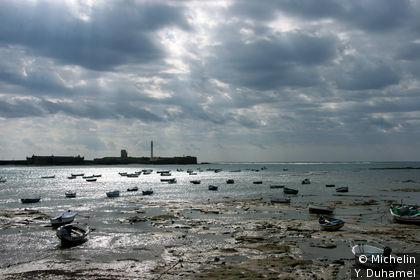Sur la plage de la Caleta