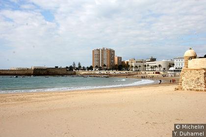 La plage de la Caleta