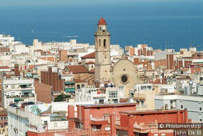 Espagne, Catalogne, province de Barcelone, Calella
