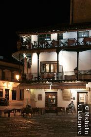 Une terrasse de la Plaza Mayor