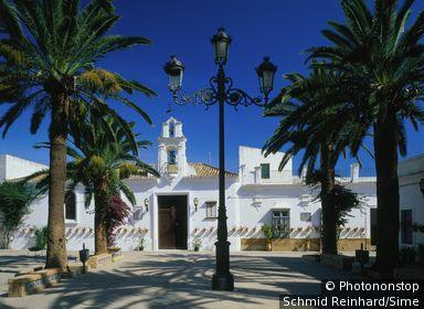 Espagne, Andalousie, Chipiona, Zone Méditerranéenne, Costa de la Luz, Province de Cádiz - Chapel in the old town