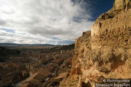 Spain, Daroca, Village.