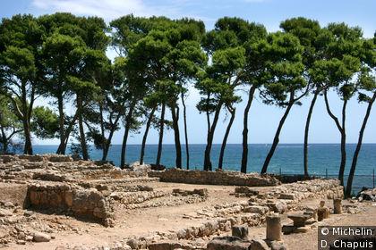 Ruines de l'ancienne cité grecque Néapolis