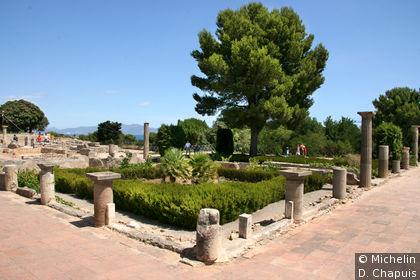 Ruines de l'ancienne cité romaine