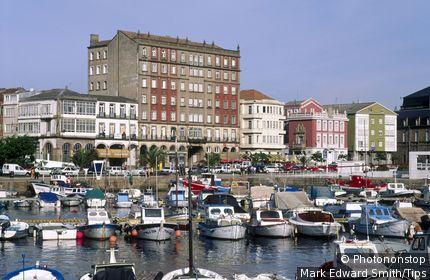 Espagne, Galice, province de la Corogne, Ferrol, port