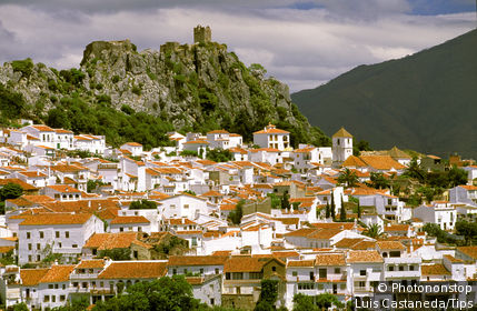 Spain - Andalusia - White town of Gaucin
