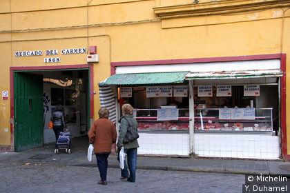 Le marché Del Carmen