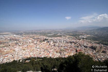 Vue depuis le Castillo Santa Catalina